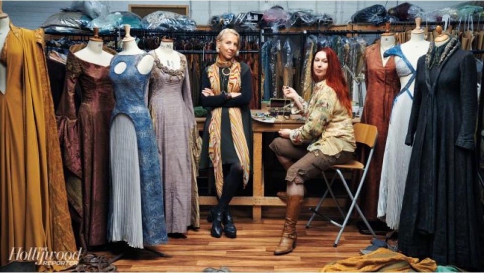 Мишель Клэптон и Мишель Каррагер (фото с сайта hollywoodreporter.com)