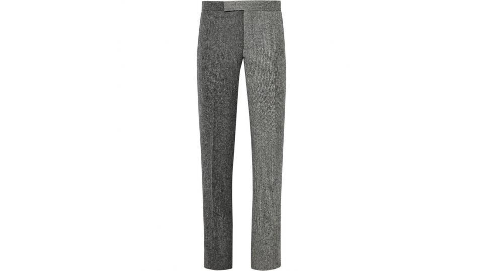 брюки Thom Browne, ок. 39900 руб. (фото с сайта mrporter.com