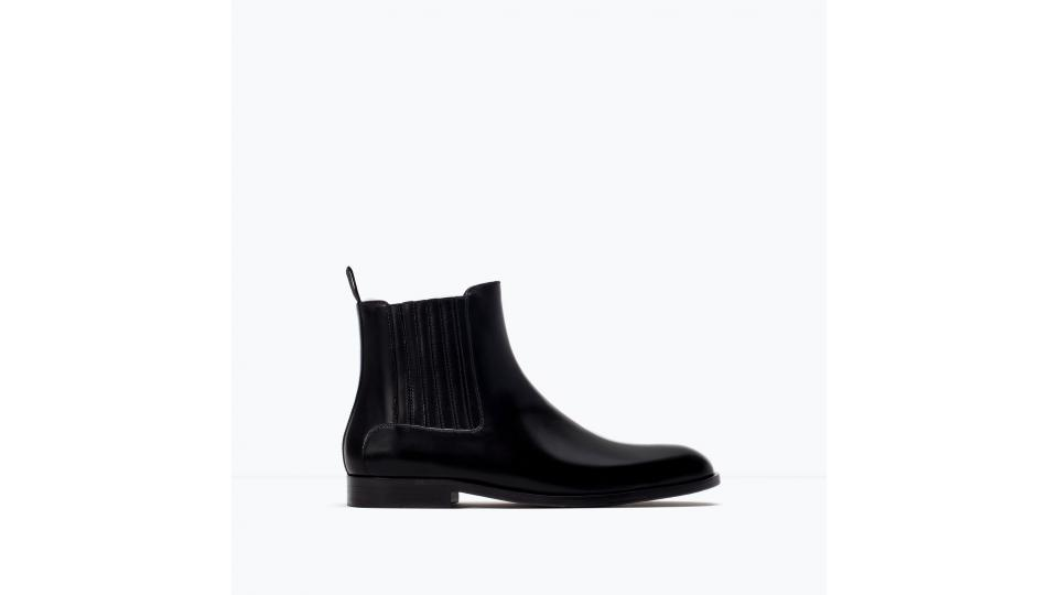 ботинки Zara, 3999 руб. (фото с сайта zara.com)