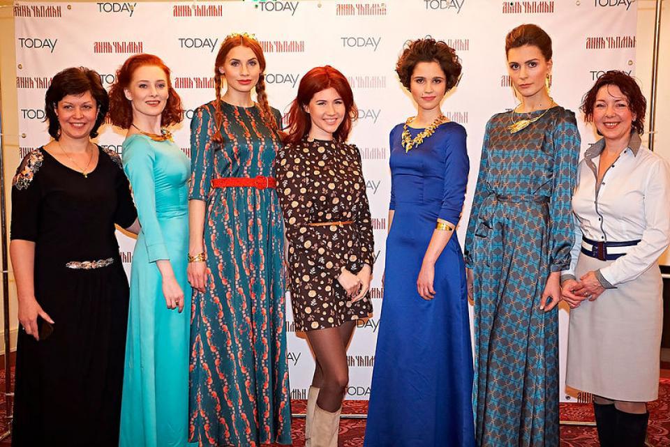 Анна Чапман создает коллекцию одежды
