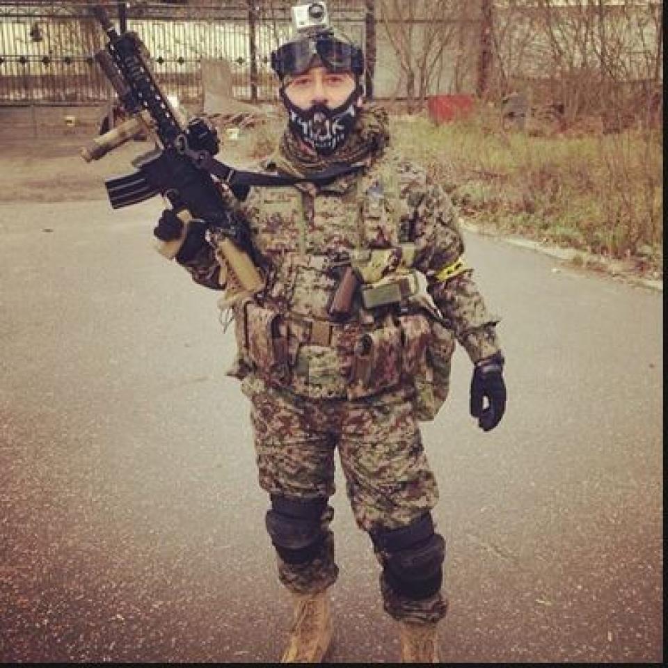 Телеведущий Михаил Галустян открыл свой тактический полигон. Сам актер обожает играть в страйкбол