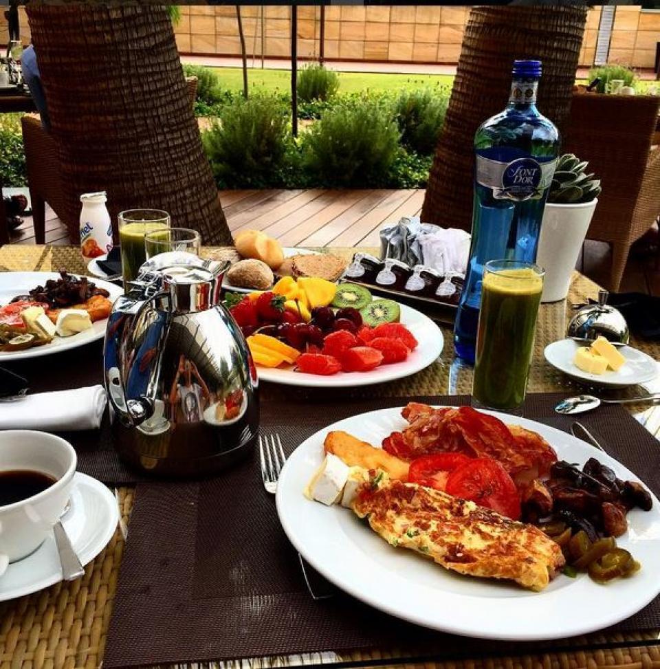 Мясо, фрукты и фото из чайника — крутой микс!