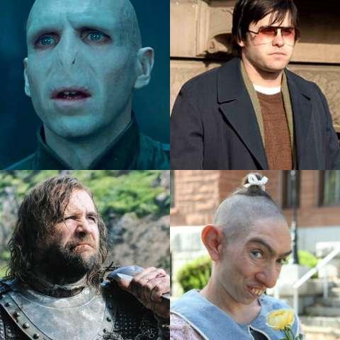 Актеры, которых изменили до неузнаваемости