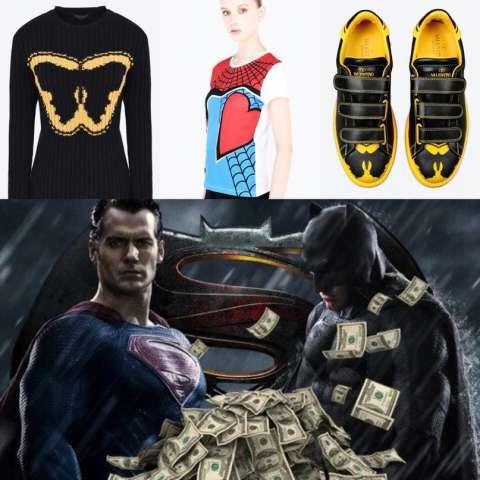 100 тысяч за супергеройский «лук»: Valentino представил мини-коллекцию