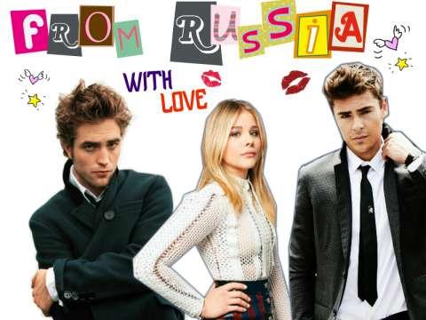 Если бы голливудские звёзды жили в России