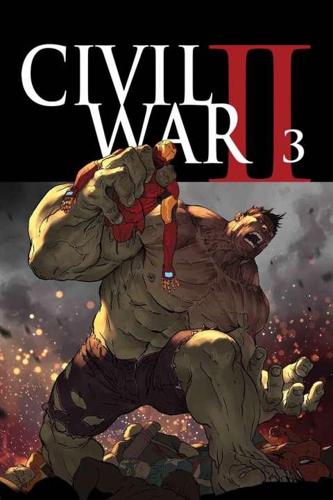 «Гражданская война II» унесет жизнь Халка