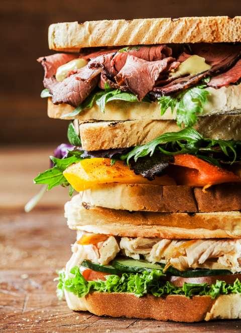 Лайфхак на завтрак: делаем сэндвичи