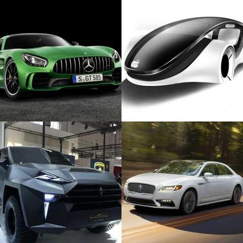 Самые крутые автомобили, которые появятся в ближайшие 5 лет