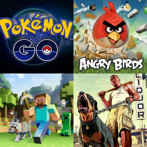 Топ-5 самых популярных игр десятилетия