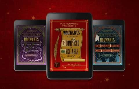 Джоан Роулинг выпустит 3 электронные книги о мире Гарри Поттера