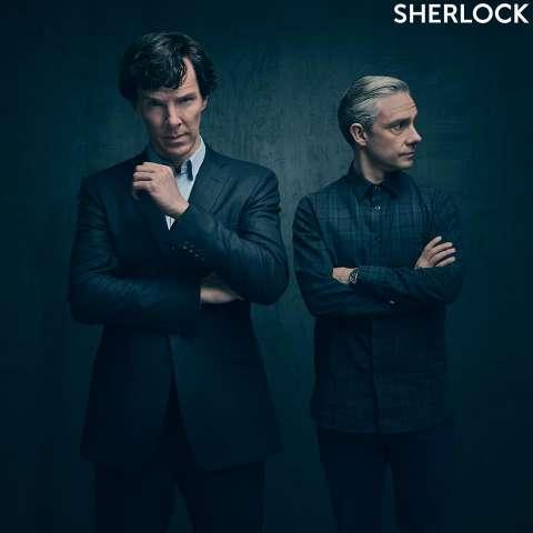 Появился постер 4-го сезона сериала «Шерлок»