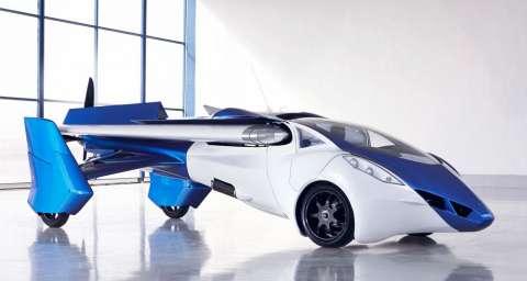 Названа цена первого летающего автомобиля