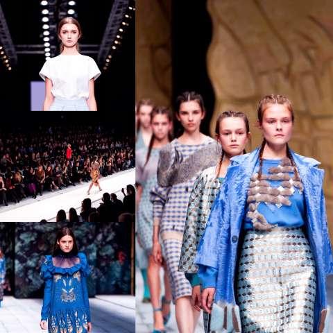 В Москве прошла Неделя моды Mercedes-Benz Fashion Week Russia
