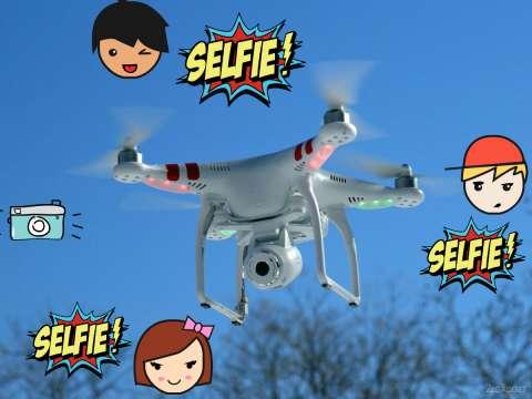 В 2017-м году в продажу поступят селфи-дроны