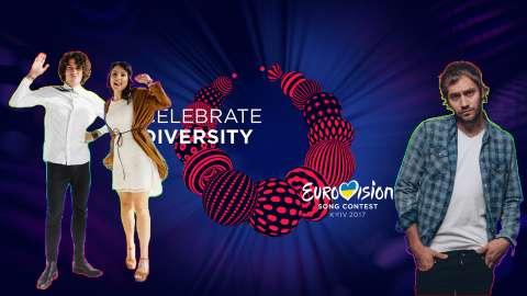 Интервью участников конкурса «Евровидение» специально для Музыки Первого