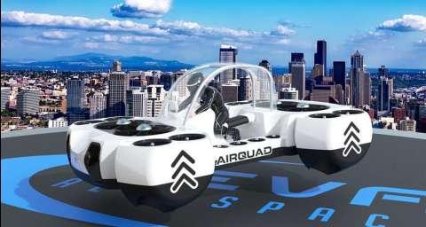 Летающий квадроцикл заменит наземный транспорт