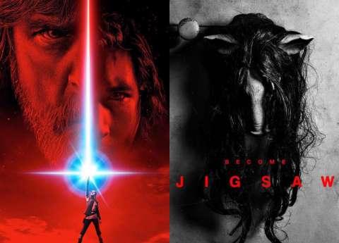 В сети появились постеры «Пилы» и «Звездных войн»