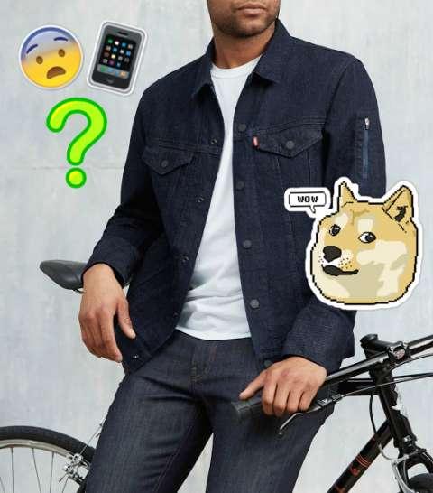 Теперь можно управлять смартфоном с помощью куртки!