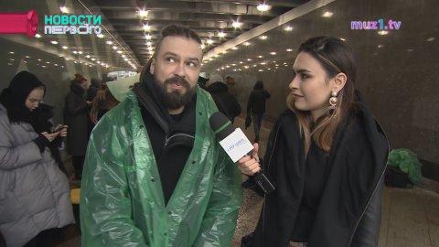 "Съемки клипа Burito на песню ""Штрихи"""