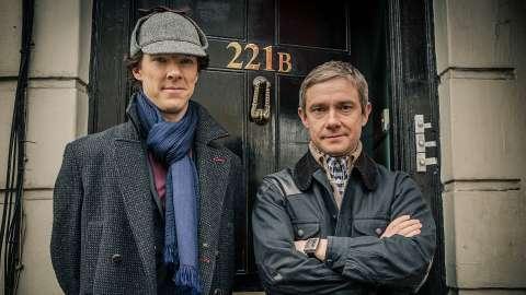 Стала известна дата выхода сериала «Шерлок»