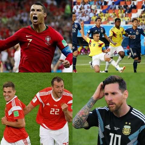 Чем удивляют футболисты на ЧМ по футболу-2018?