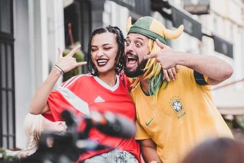 Sabi Miss записала хит с бразильским болельщиком