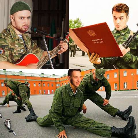 Как бы выглядели звезды на военной службе?