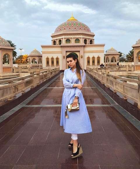 Звездный путеводитель: Люся Чеботина в Омане