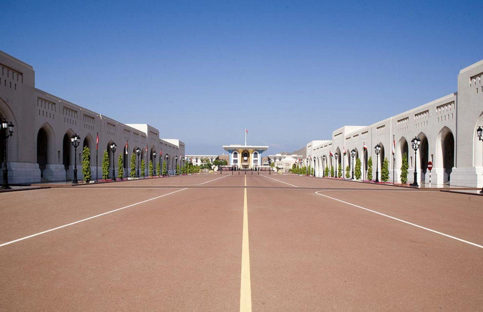 Картинка дворца султана в омане