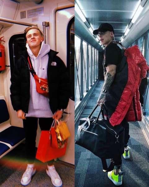 Что лежит в рюкзаке у звездных парней?