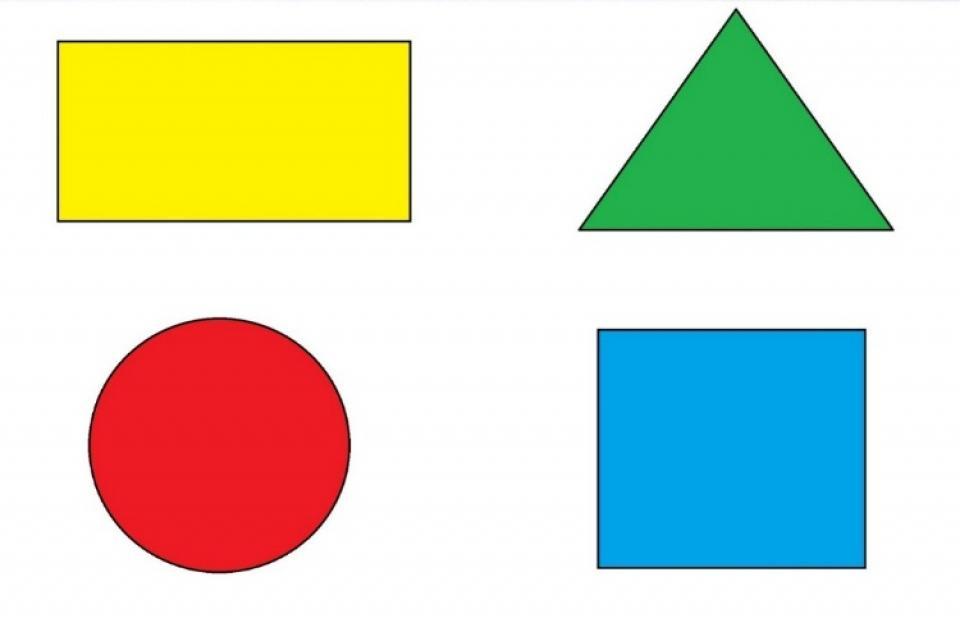Квадраты треугольники картинки