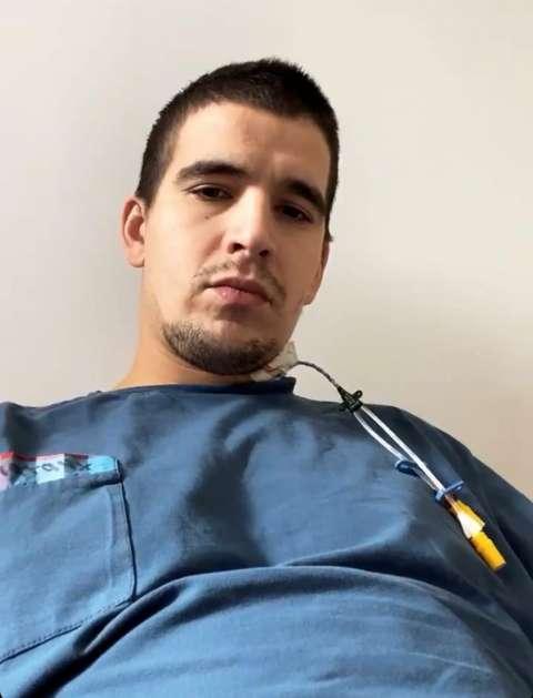 Feduk попал в больницу