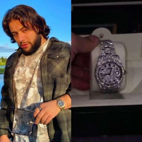 Navai купил бриллиантовые часы