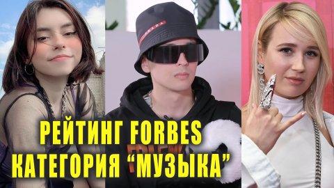 Рейтинг FORBES в категории Музыка   Новости
